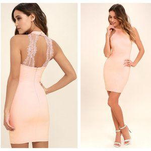 Lulus - Backless Bodycon Dress Size M